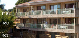 Les Amandiers, Hôtel à Saint-Raphaël, Locations Vacances, Piscine chauffée