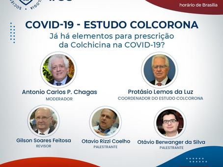 Estudo COLCORONA - já há elementos para prescrição da Colchicina na COVID-19?