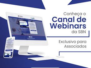 Conheça o Canal de Webinars da SBN