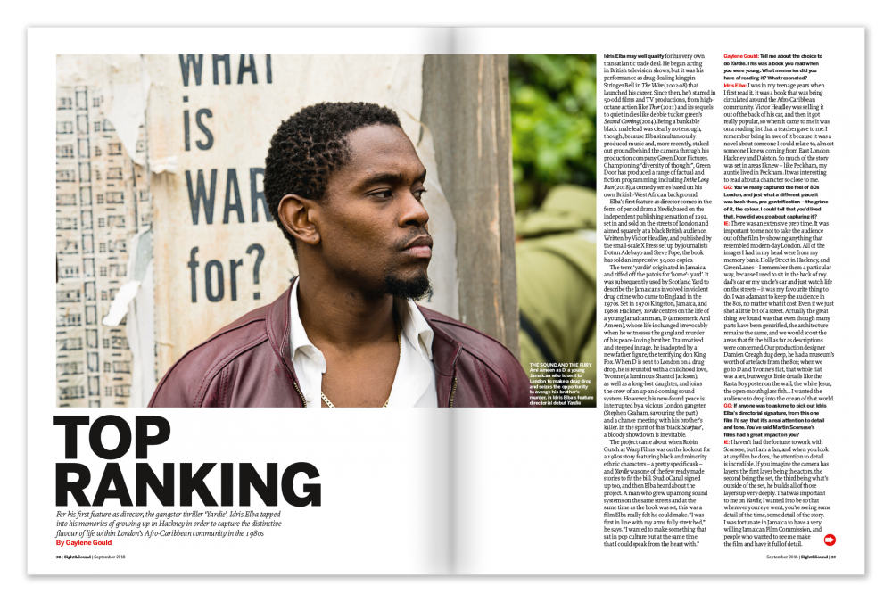 Sight & Sound Interview with Idris Elba on Yardie