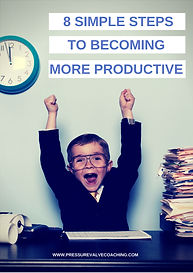 COVER 8 simple steps to being more produ