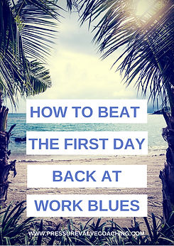 COVER - HOW TO BEAT THE FIRST DAY BACK A