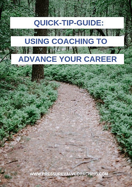 Using coaching to advance your career -
