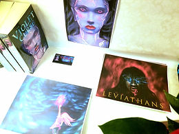Book and Print Display 4 - All Leviathan