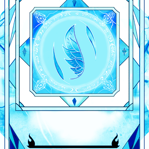 Single Book Plate - Color BLUE ICE with