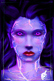 09.09.2020 The Violet Curse Book Poster.