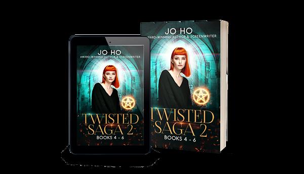 Twisted Saga 2 FINAL iPad and Paperback.