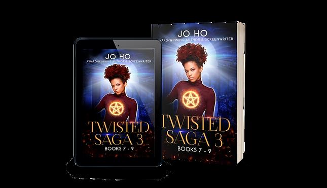Twisted Saga 3 FINAL iPad and Paperback.