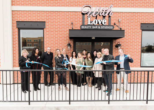 Grand opening of With Love Beauty Bar