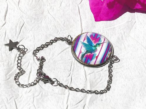 Bracelet chaine colibri