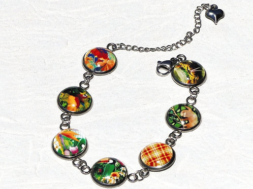 Bracelet cabochons Guyane