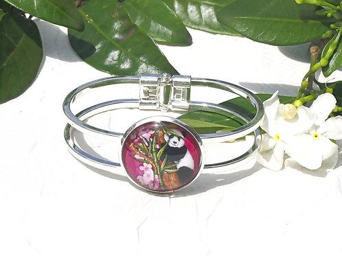 Bracelet panda rose