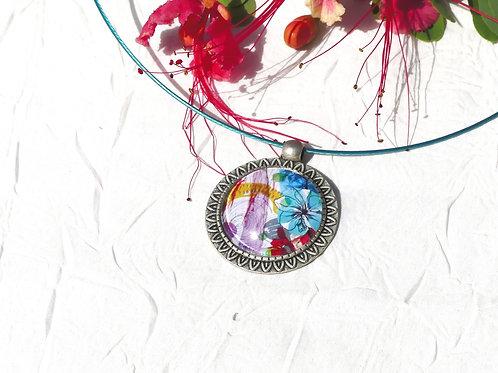 Bracelet pastel fleuri