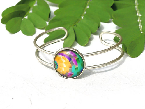 Bracelet graphique coloré