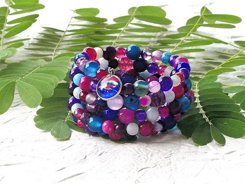 Bracelet perles tortue