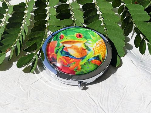 Miroir grenouille