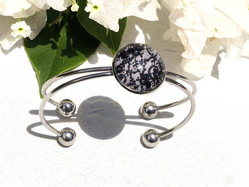 bracelet dentelle noire