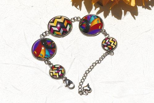Bracelet coloré carnaval