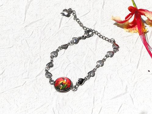 Bracelet toucan orange