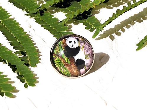 Bague réglable panda