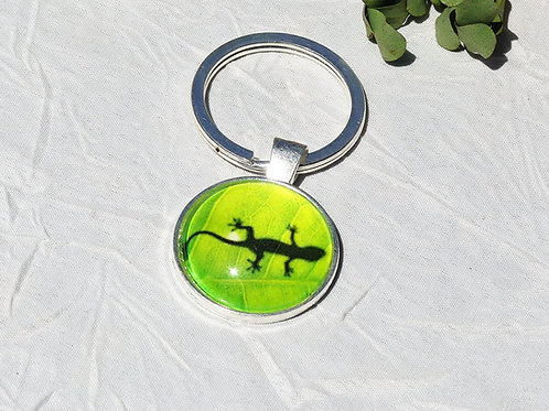 Porte-clefs lézard