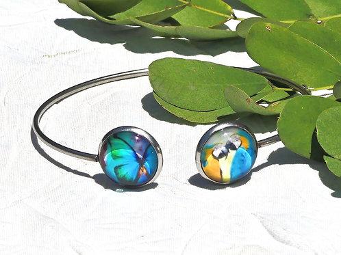 Bracelet papillon aras