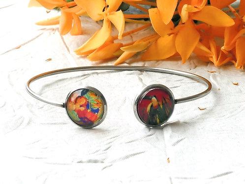 Bracelet double orange