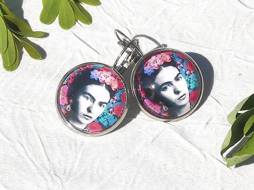 Boucles d'oreille Frida Khalo