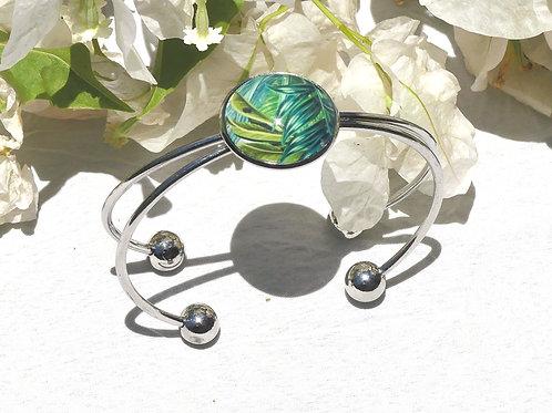 Bracelet tropical vert