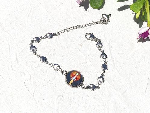 bracelet chaîne fusée