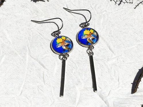 Boucles d'oreille tortues