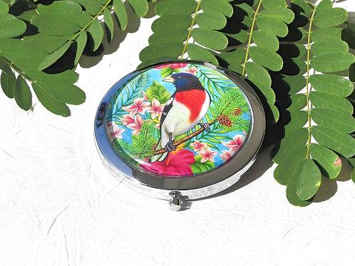 Miroir oiseau rétro