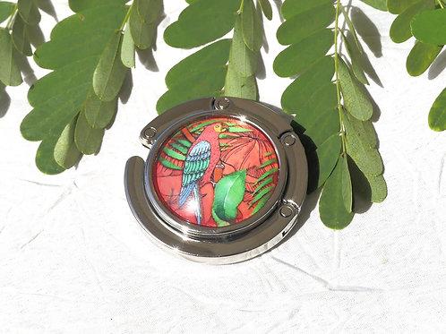 Accroche-sac perruche