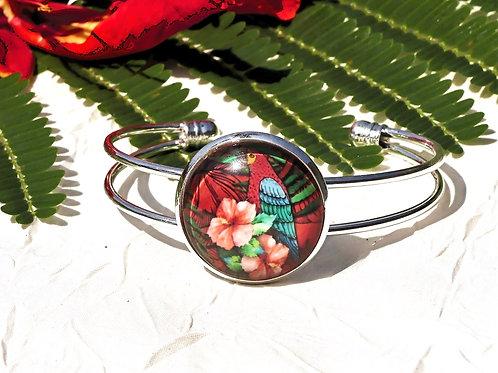 Bracelet oiseau perruche
