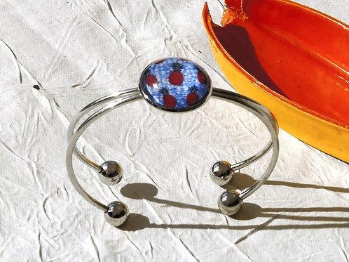 Bracelet ananas wax