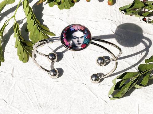 Bracelet Frida fleurie