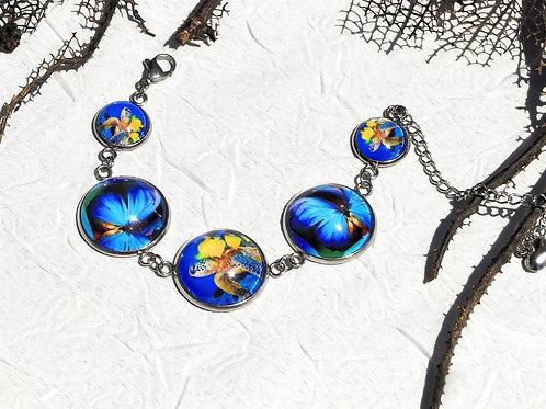 Bracelet tortue morpho