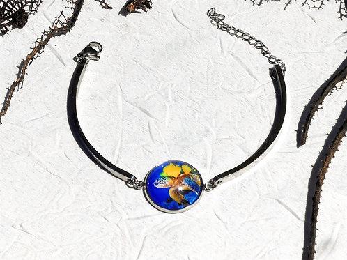 Bracelet rigide tortue