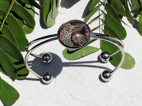 Bracelet abstrait animal