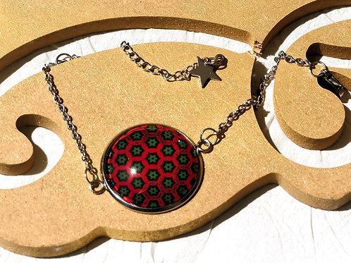 Bracelet chaîne rouge