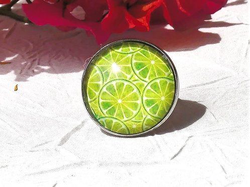 Bague citrons verts
