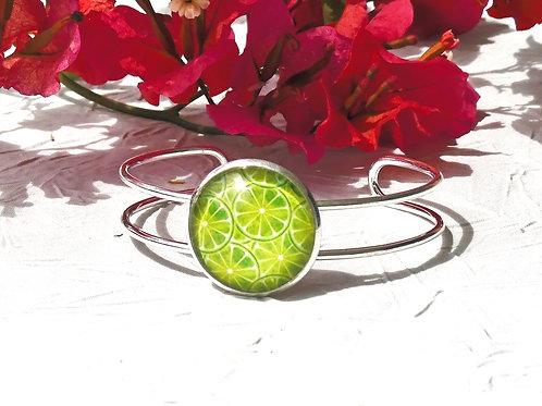 Bracelet citrons verts