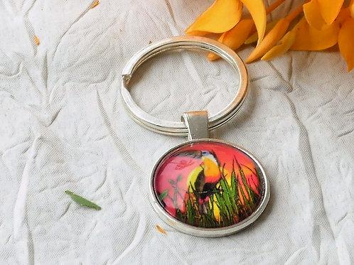 Porte-clefs toucan