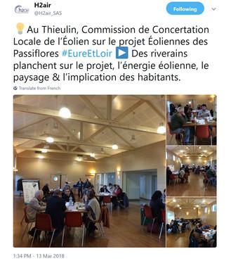 """H2air invente le concept original de la """"Concertation Locale"""" ... à huis clos !"""