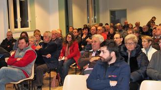 Grand succès de la réunion sur les dangers de l'éolien le 1er décembre !