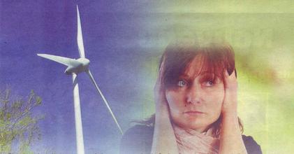 Bruit des éoliennes : la ministre renie les engagements du gouvernement .