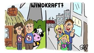 Les politiques oublient les victimes de parcs éoliens !