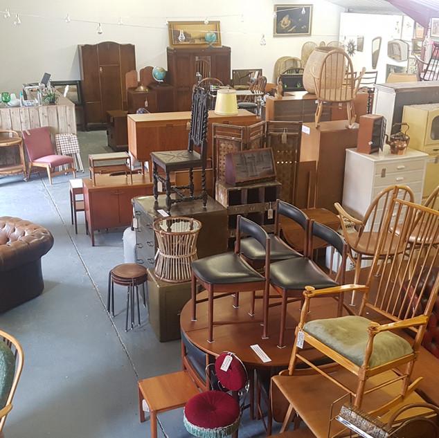 Home Vintage shop floor.