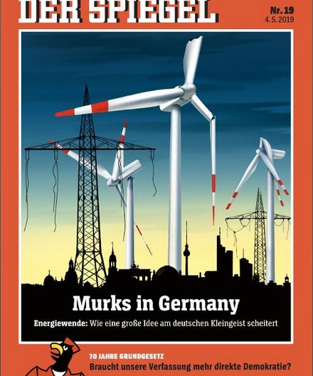 L'Energiewende, le plus,grand projet politique depuis la réunification allemande risque d'échouer !