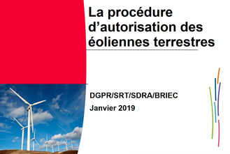 En savoir plus sur la procédure administrative éolienne...